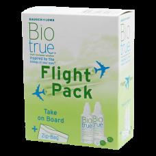 Biotrue Flight Pack 2x 60 ml Biotrue, 2x Kontaktlinsenbehälter, 1x Zip Bag